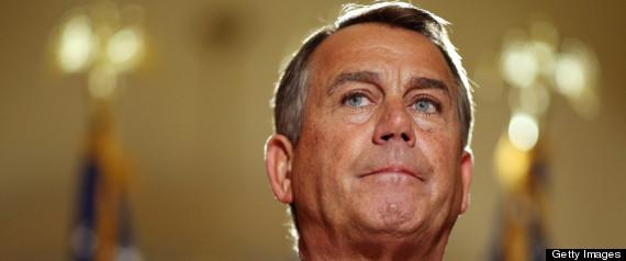 House Leader Boehner Speaks On The Impending Fiscal Cliff