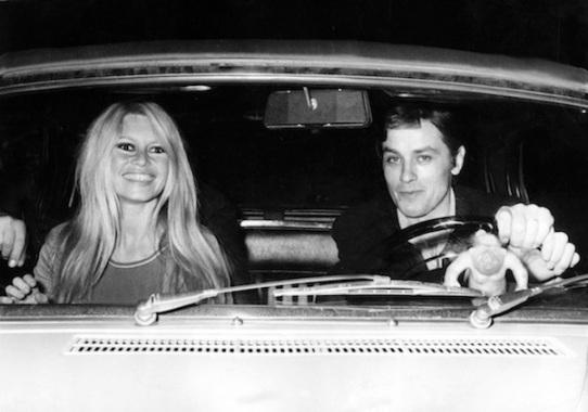 Brigitte BARDOT und Alain DELON , 1967
