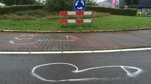 De-piemels-bij-de-rotonde-in-Marsdijk-foto-RTV-Drenthe-Margriet-Benak
